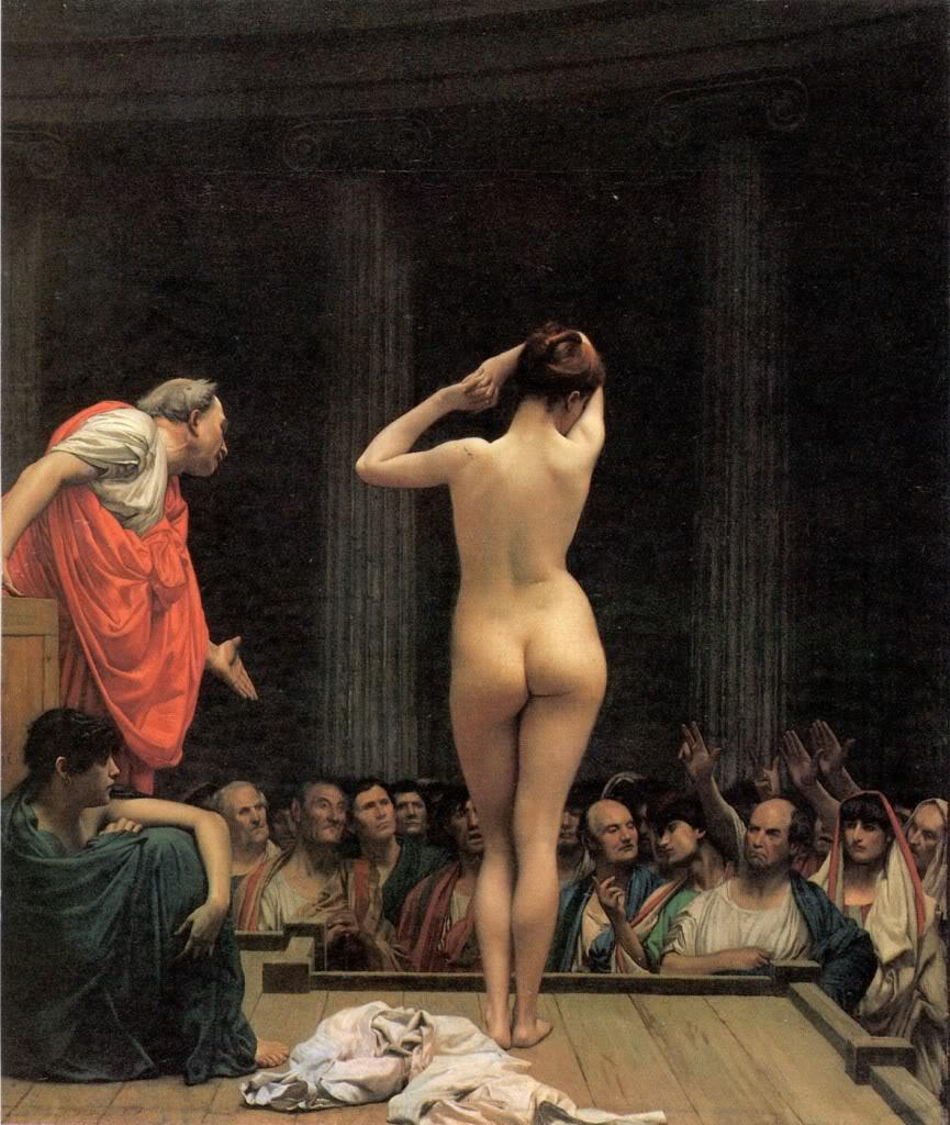 JeanLeonGerome--SlaveMarketinRome1884