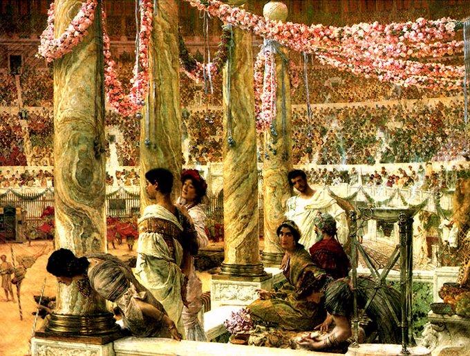 Lawrence_Alma-Tadema_-_Geta_and_Caracalla_1907