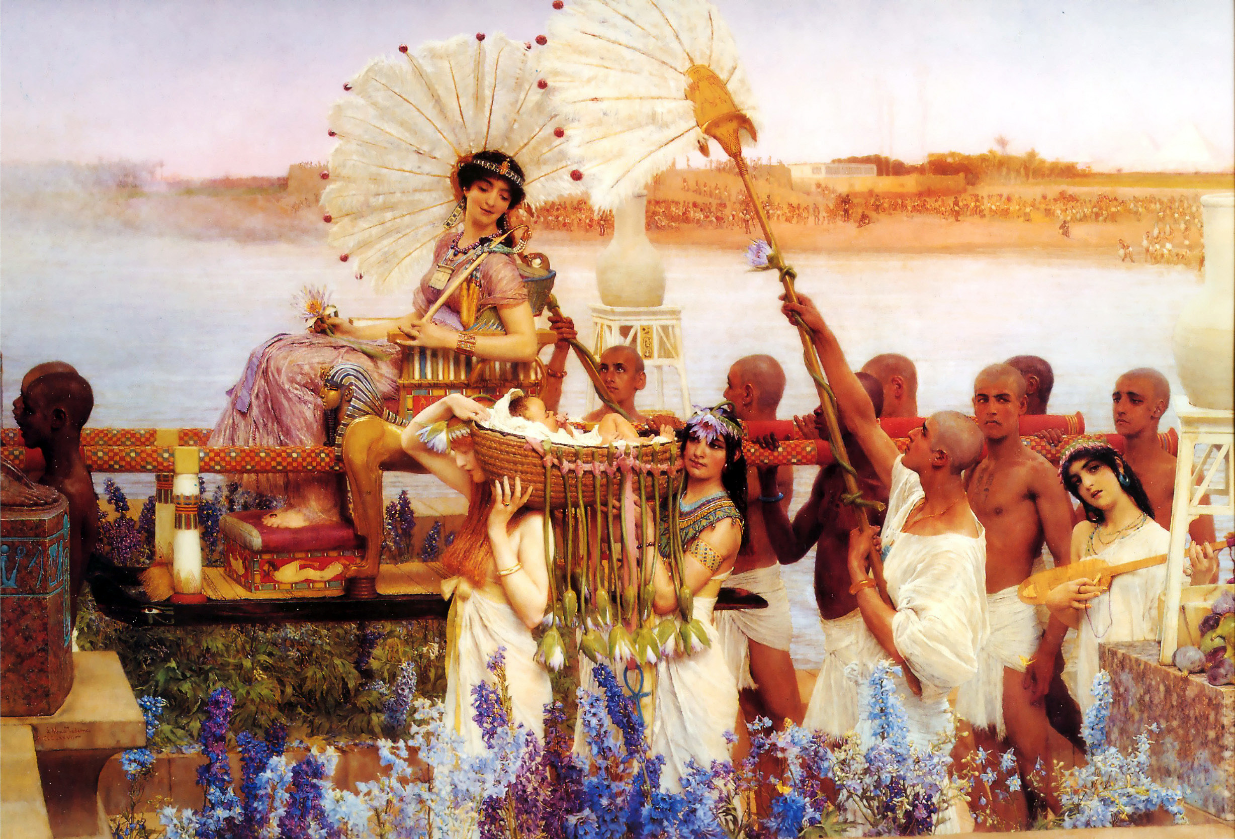 Lawrence_Alma-Tadema_-_The_Finding_of_Moses