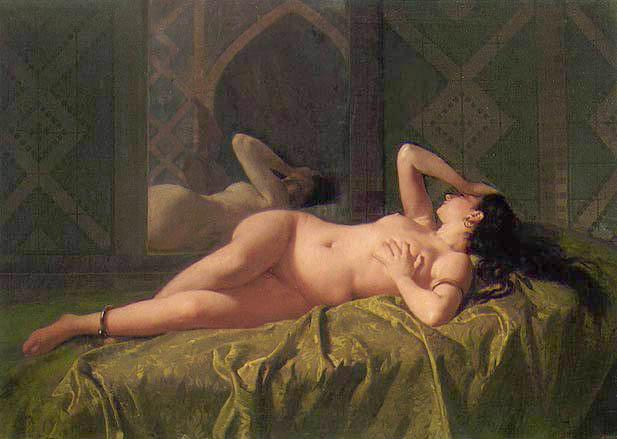 Mariano Fortuny--Odalisca.1862