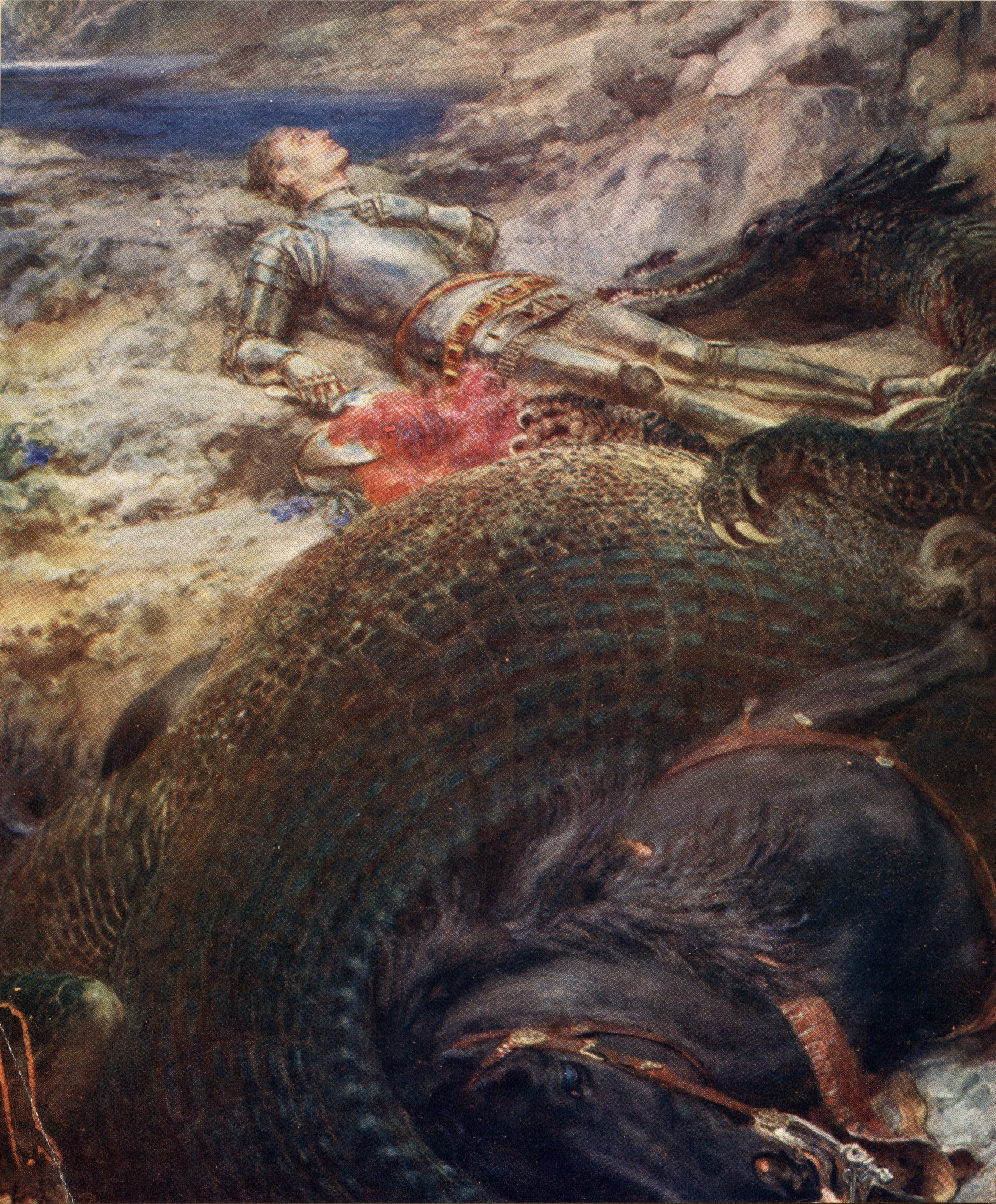 St._George_and_the_Dragon_-_Briton_Riviere