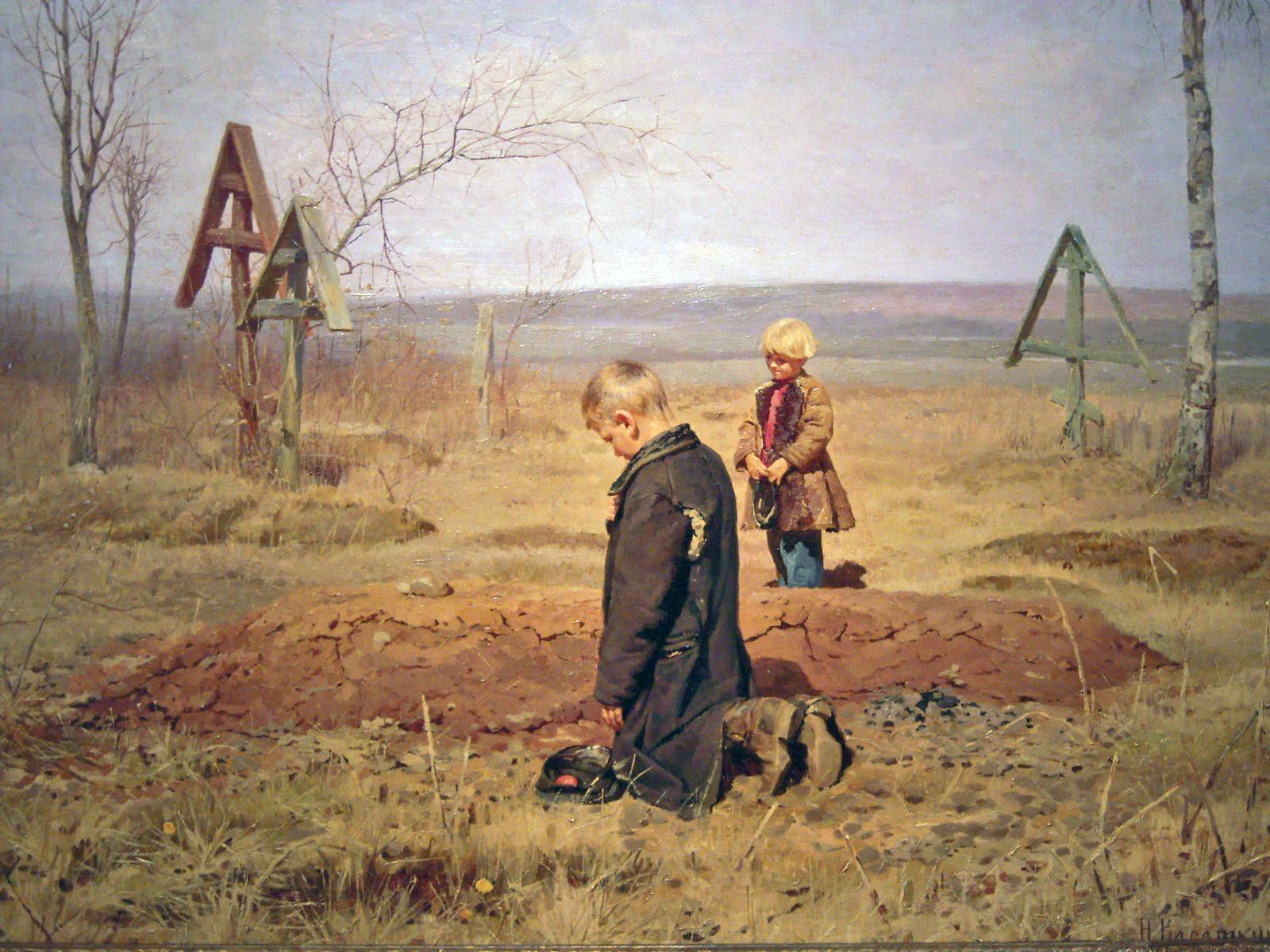 Nikolay Kasatkin - Orphaned