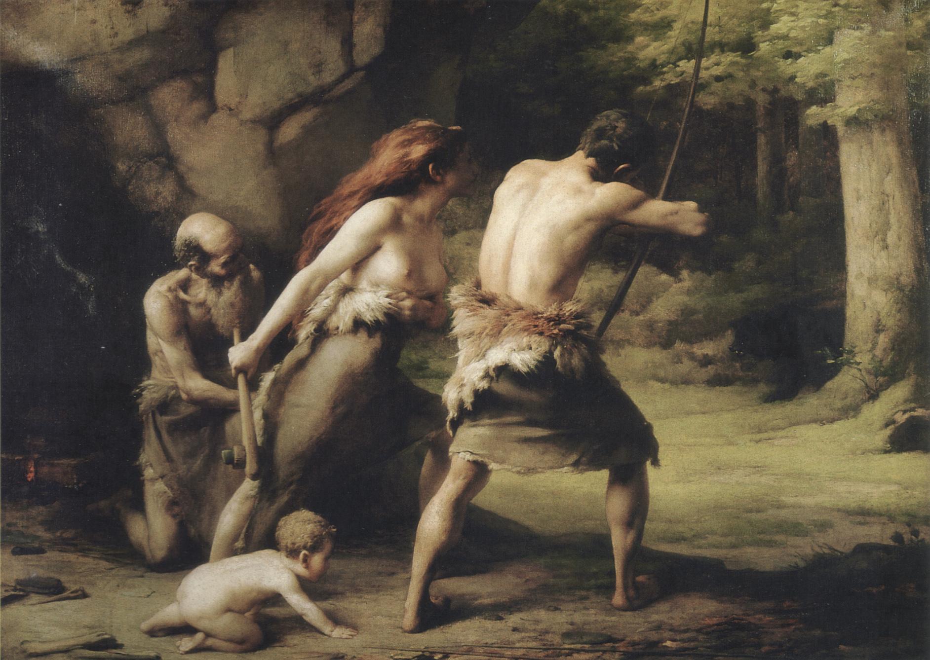 faivre_prehistoric_hunt