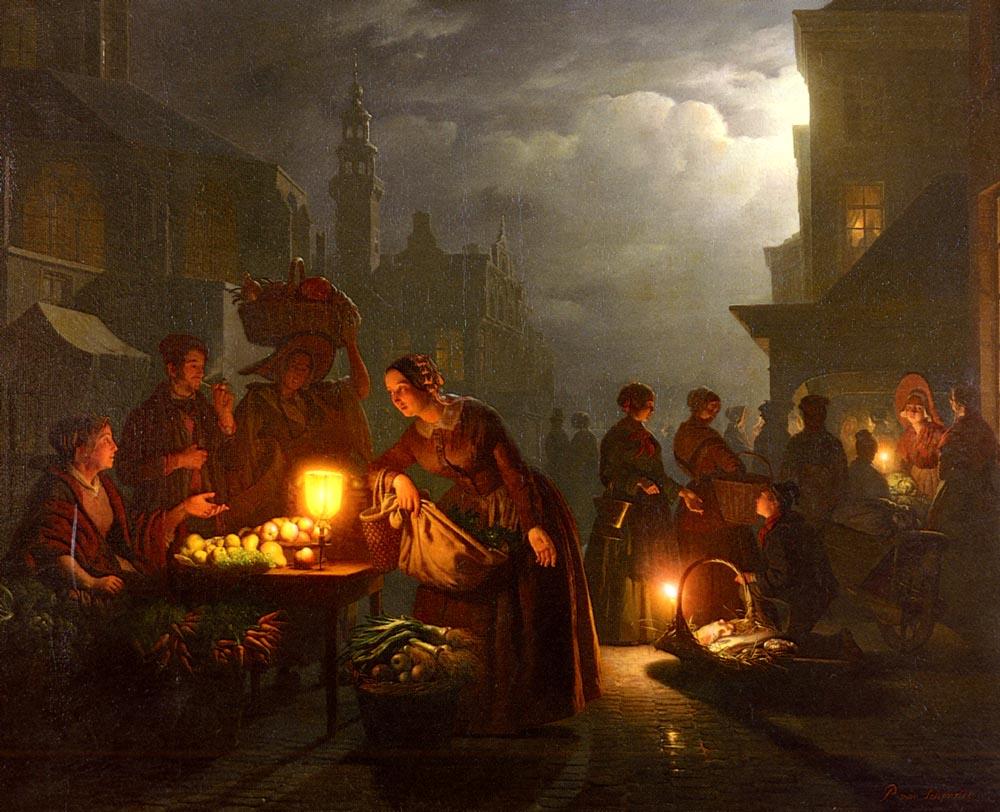 the_candlelit_market-schendel