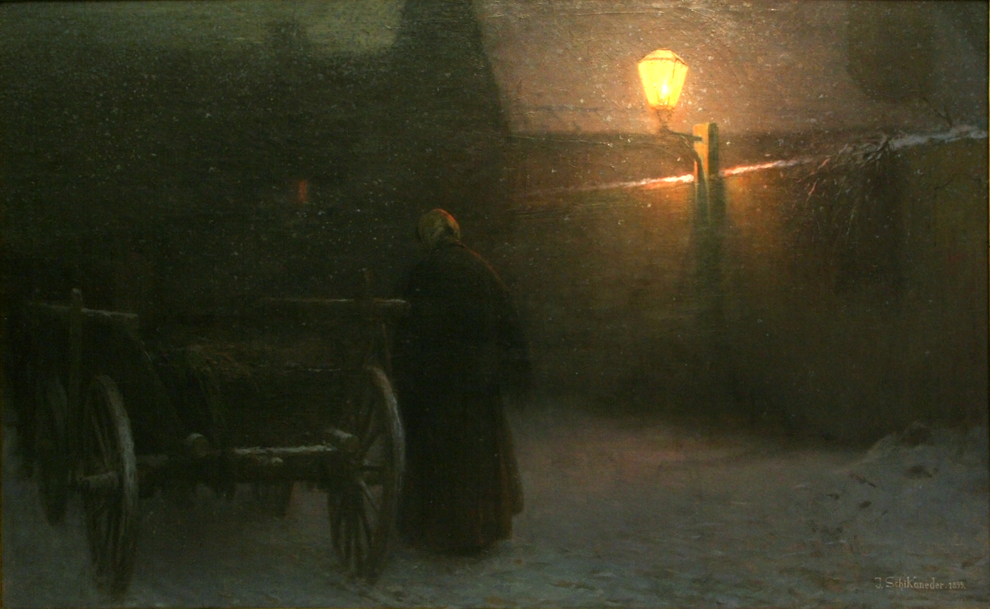 Jakub_Schikaneder_-_Snow_(Twilight_in_Winter)