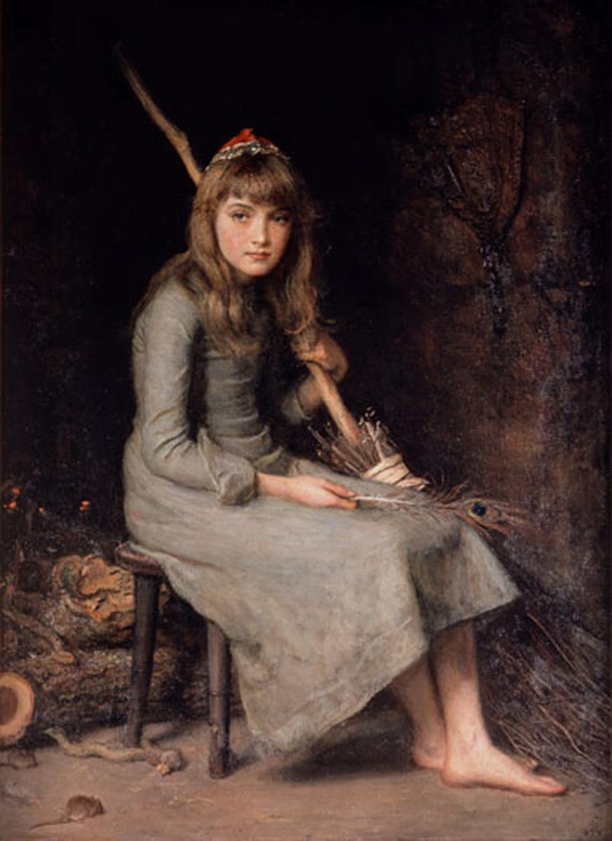 Millais, Cinderella 1870s.jpg