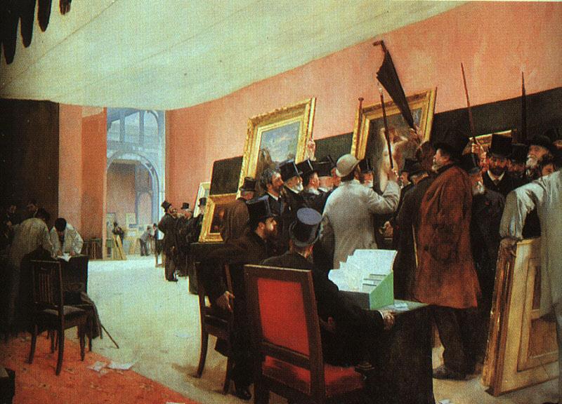 Painting Jury Henri Gervex