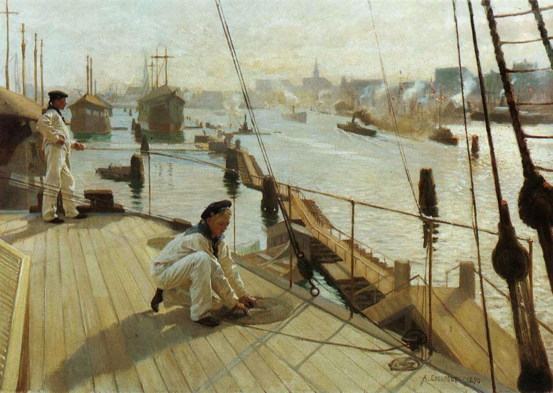 anchorage-at-copenhagen-1890_edelfelt