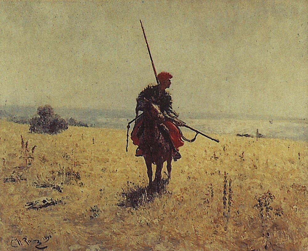 cossack-in-the-steppe_repin