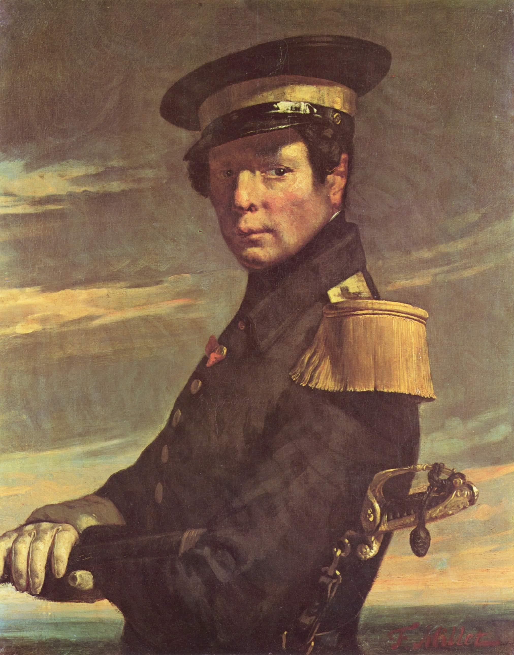 portrait-of-a-naval-officer_millet