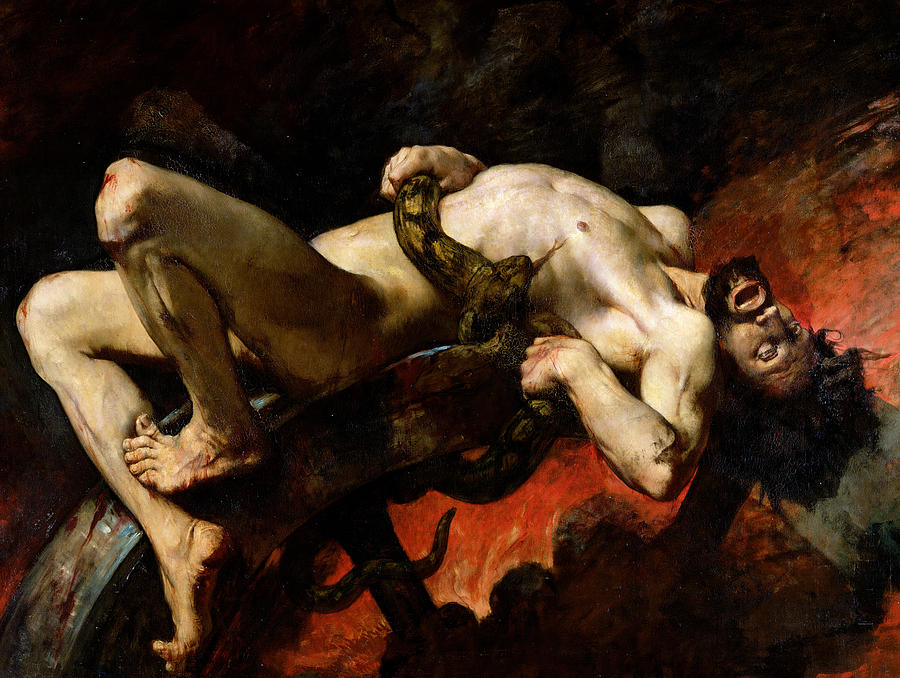 ixion-thrown-into-hades-jules-elie-delaunay_snake