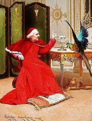 georges_croegaert___the_parrot