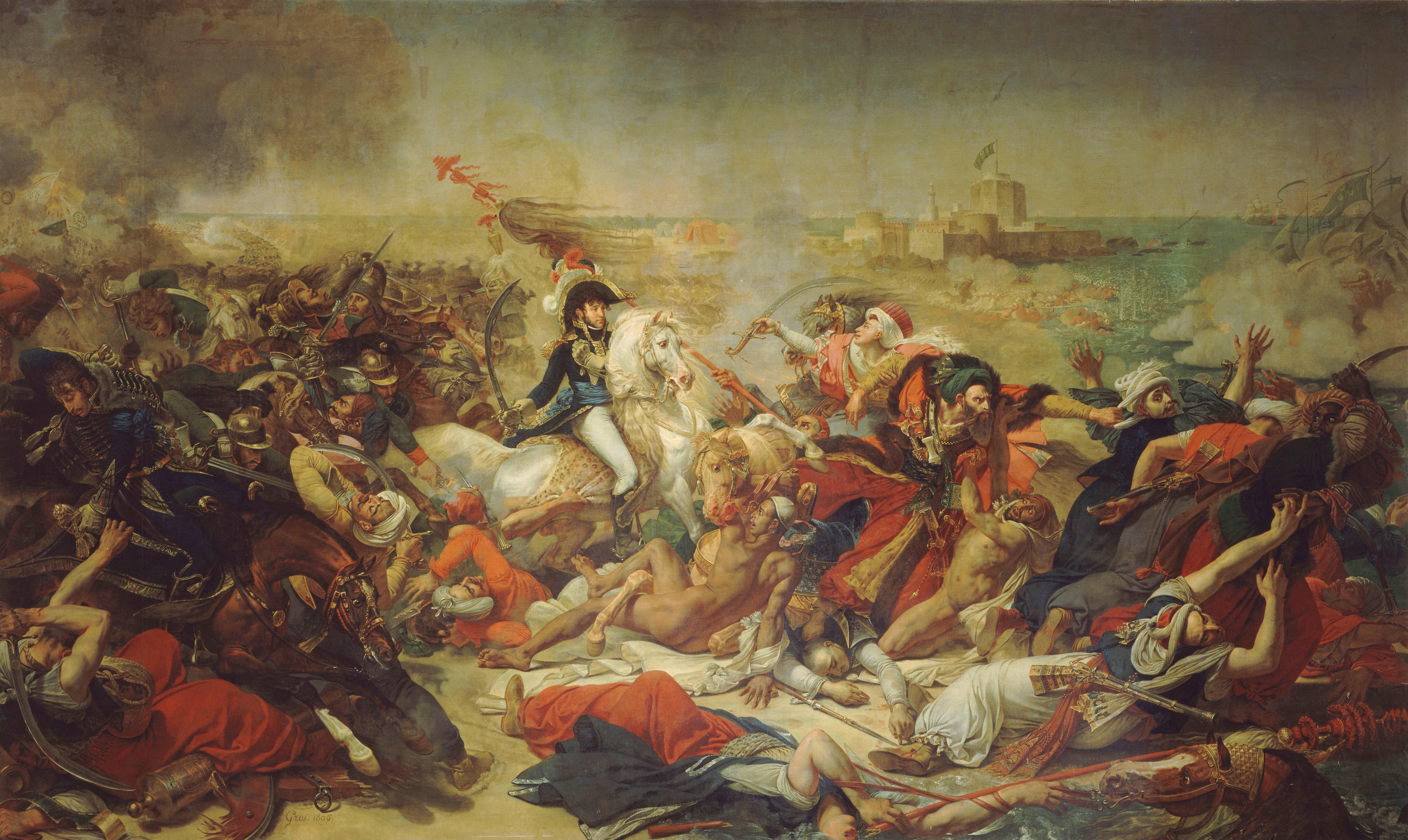 Antoine-Jean_Gros_-_Bataille_d'Aboukir,_25_juillet_1799_-_Google_Art_Project
