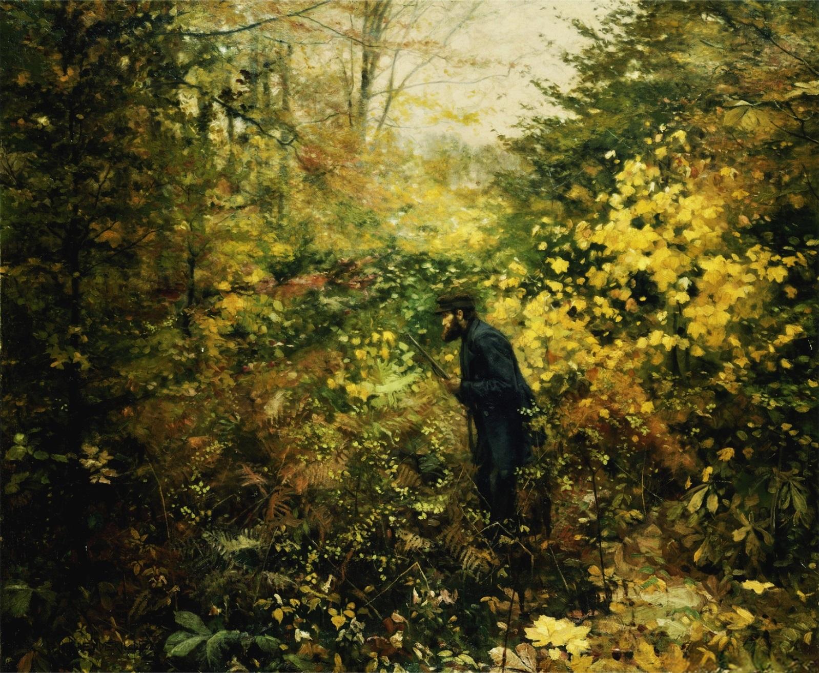 brendekilde_hunting-1887