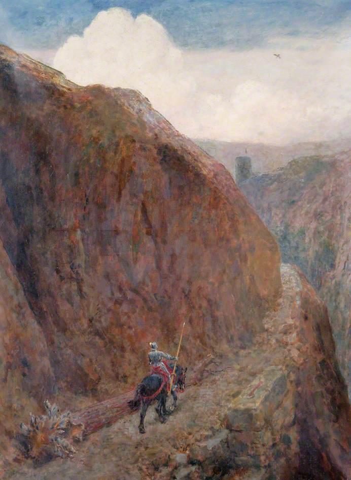 Child Roland to the dark tower, Briton Riviere