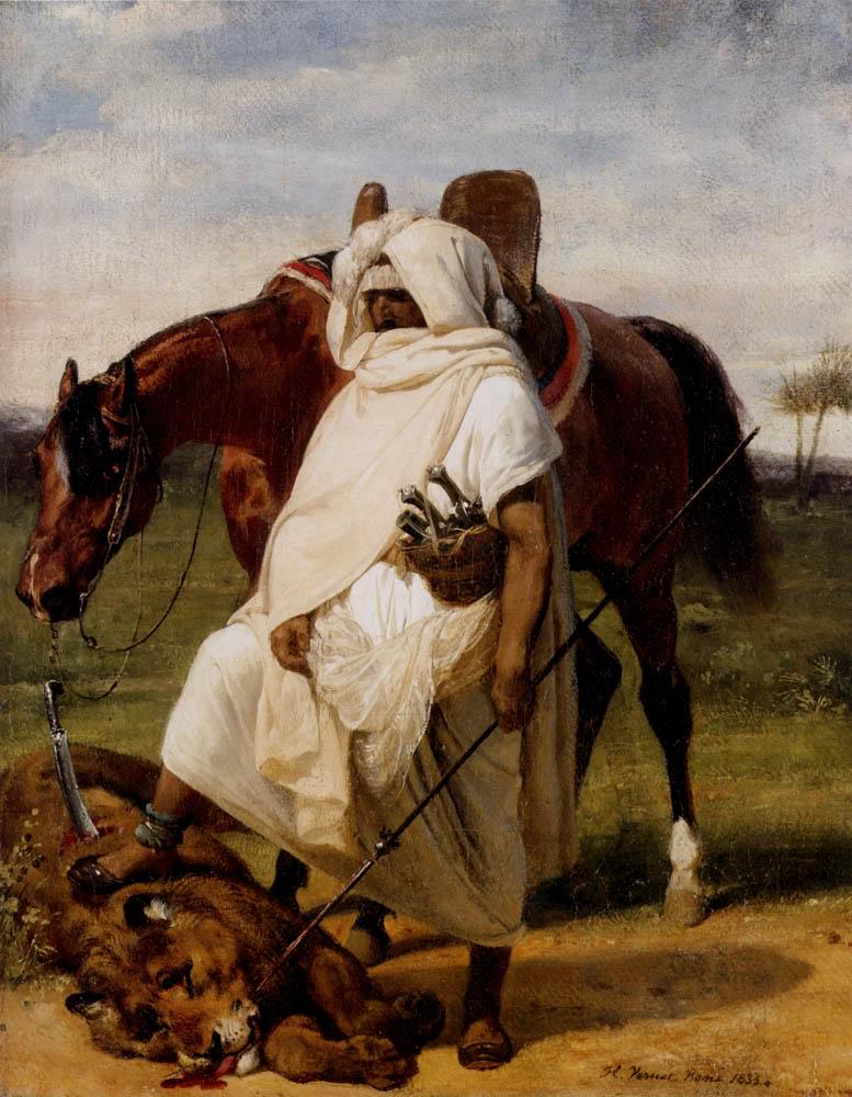 HoraceVernet--Thelionhunter1833