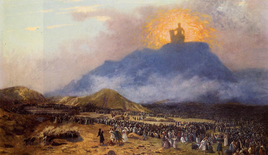 Moses_on_Mount_Sinai, Gerome