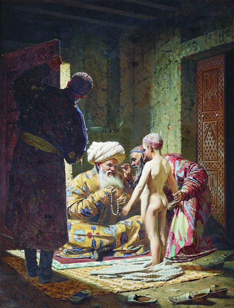 the-sale-of-the-child-slave-,vereschagin,1872