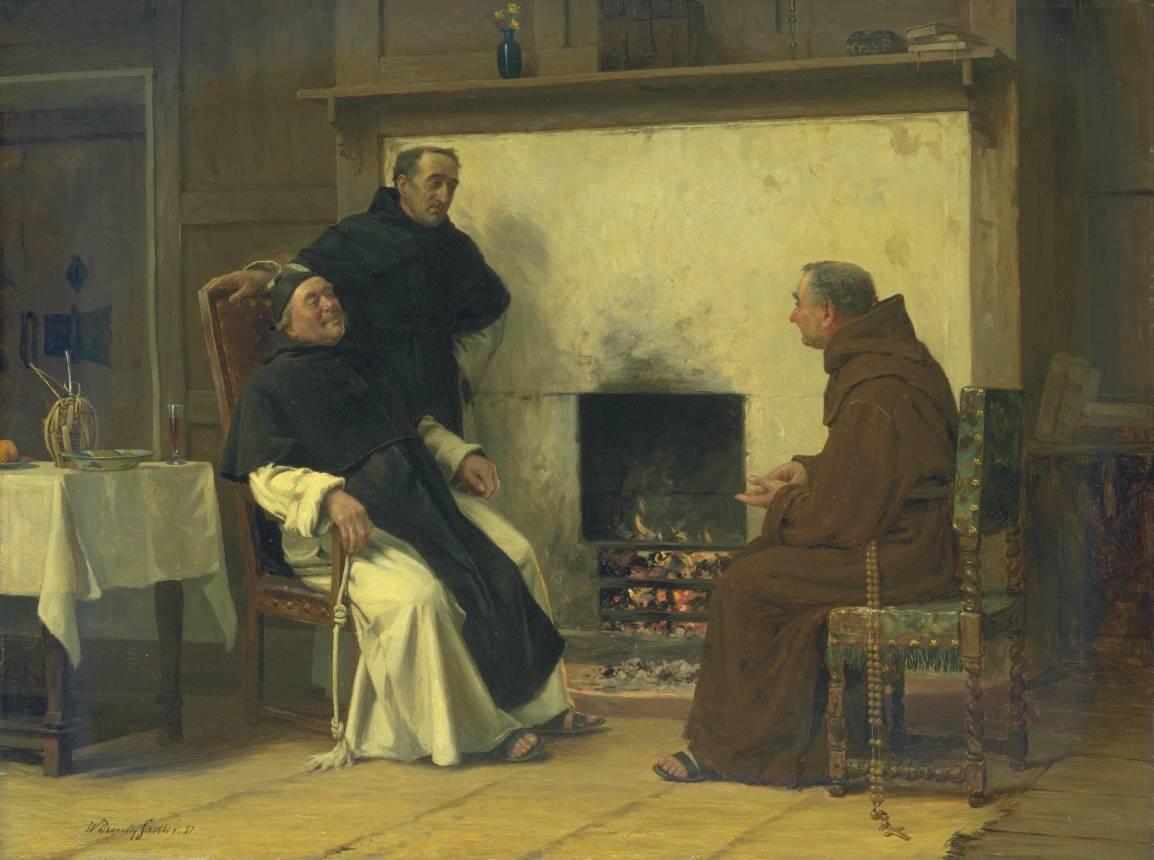 A Good Story 1881 by Walter Dendy Sadler 1854-1923