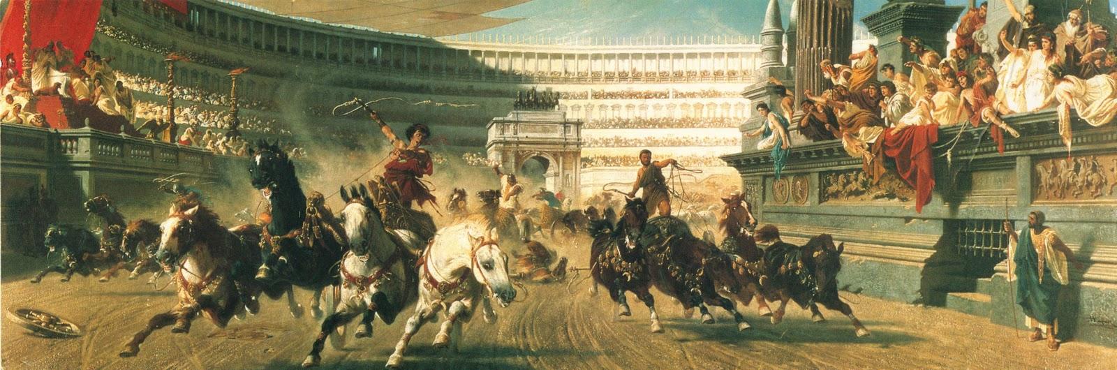 Alexander von Wagner The Chariot Race