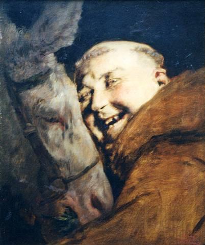 Antonio_Casanova_en_Estorach_Monkey_with-a_Donkey