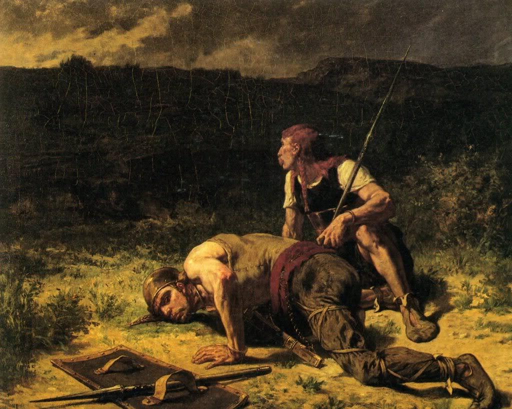 EvaristeVitalLuminais--Leseclaireursgaulois1860-1890