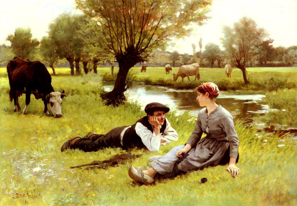 Flirting_Edouard_Debat_Ponsan