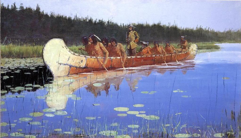 FredericRemington--RadissonandGroseilliers1905