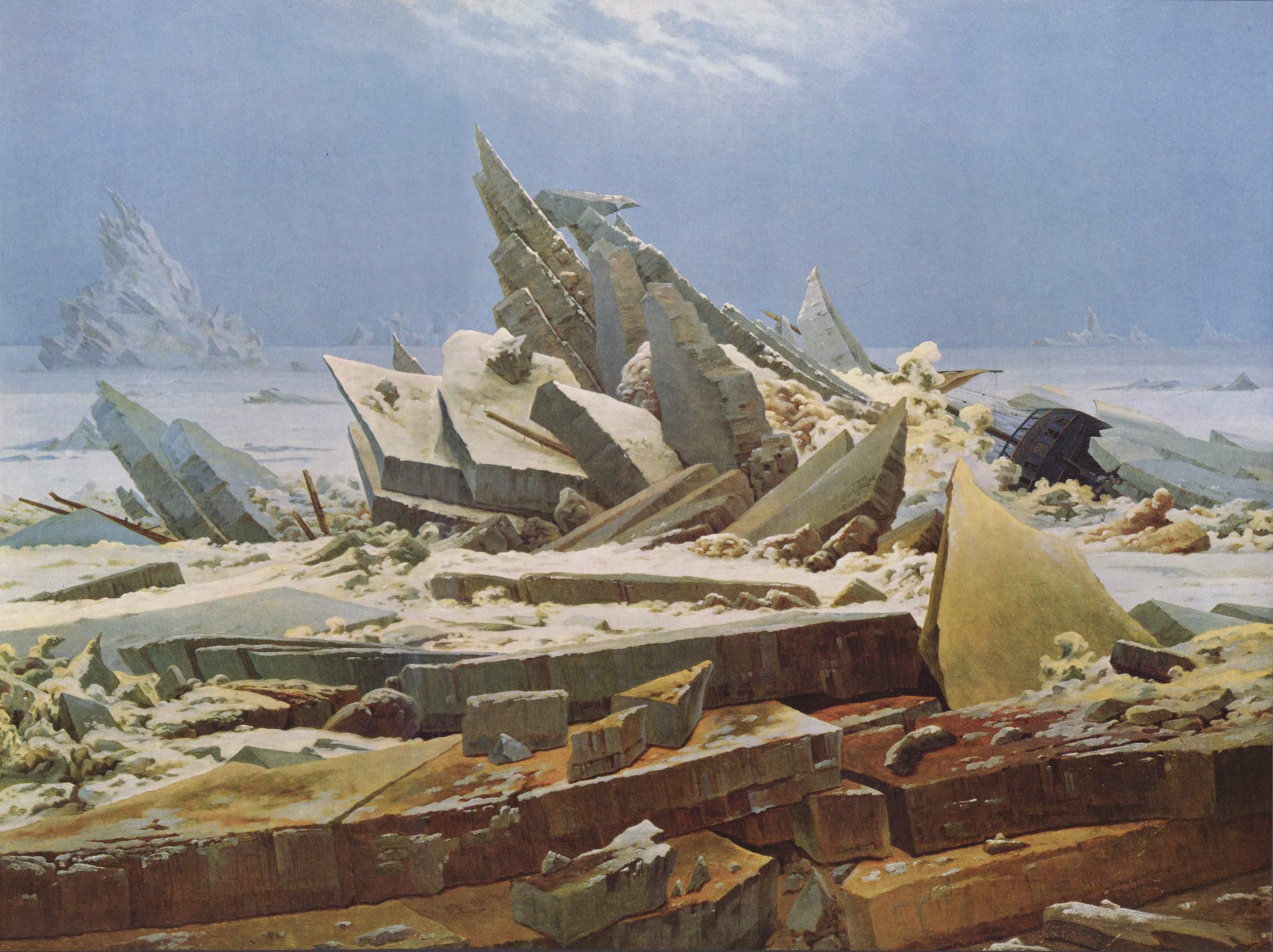 Friedrich Casper David Das Eismeer