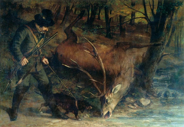Gustave_Courbet_-_The_German_Huntsman