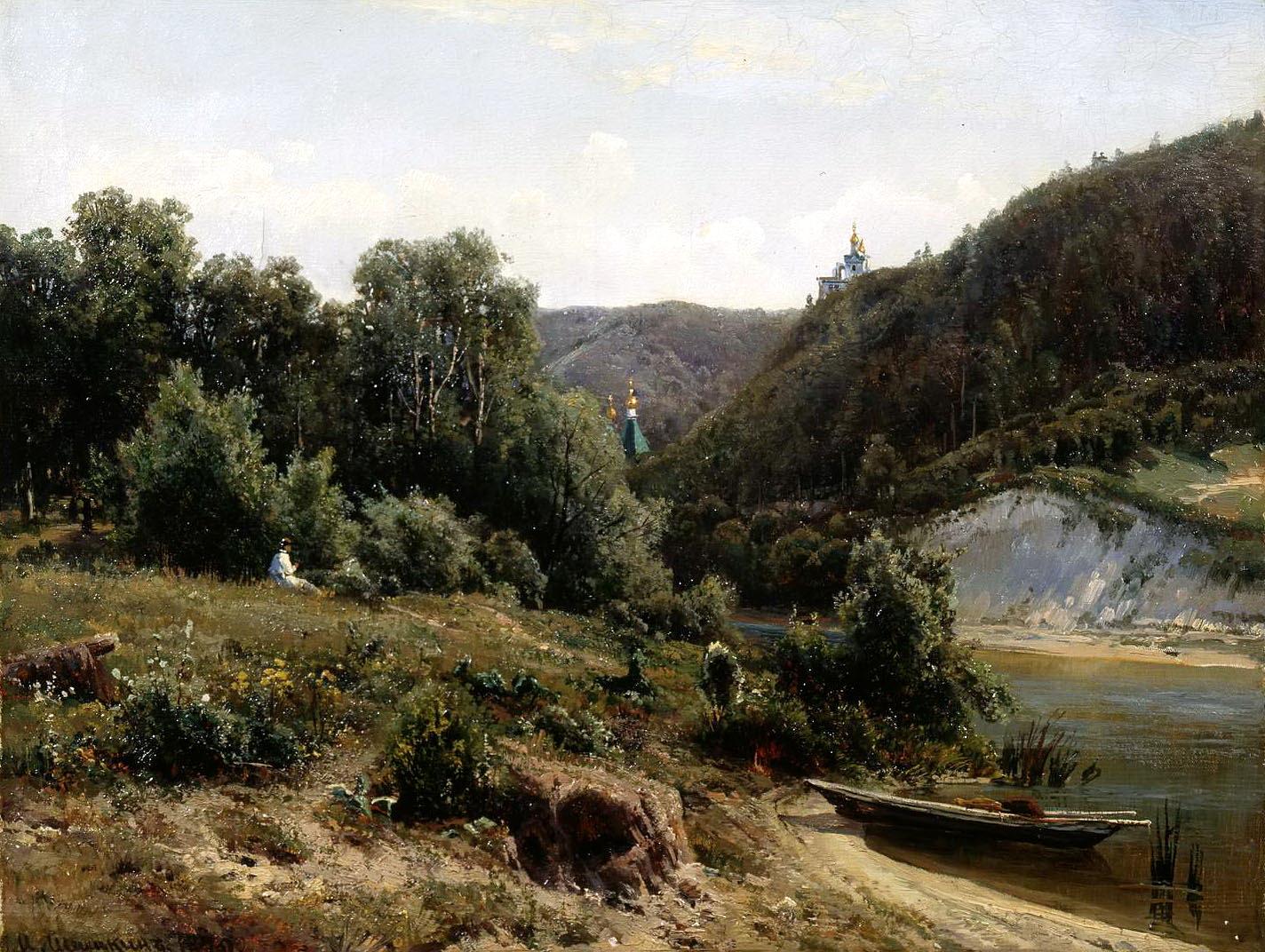 Ivan Shishkin - The Monastery