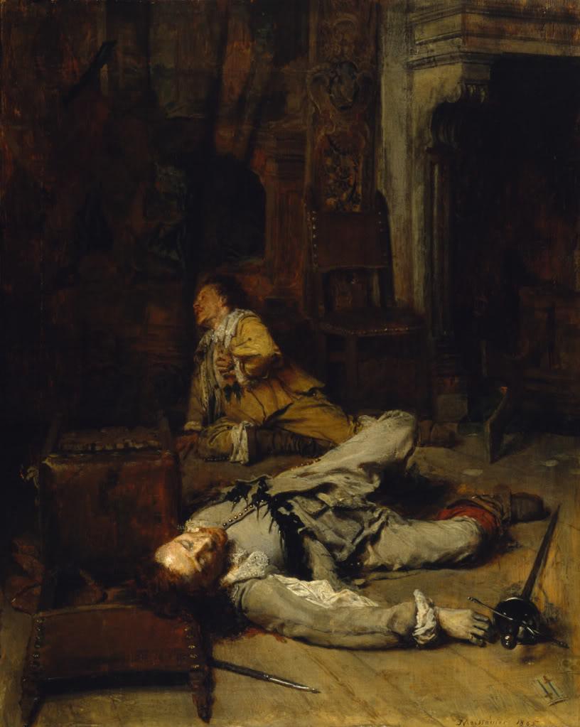 Jean-LouisErnestMeissonier--TheEndoftheGameofCards1870