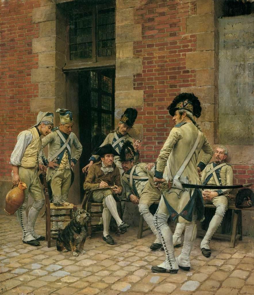 Jean-LouisErnestMeissonier--TheSergeantsPortrait1874