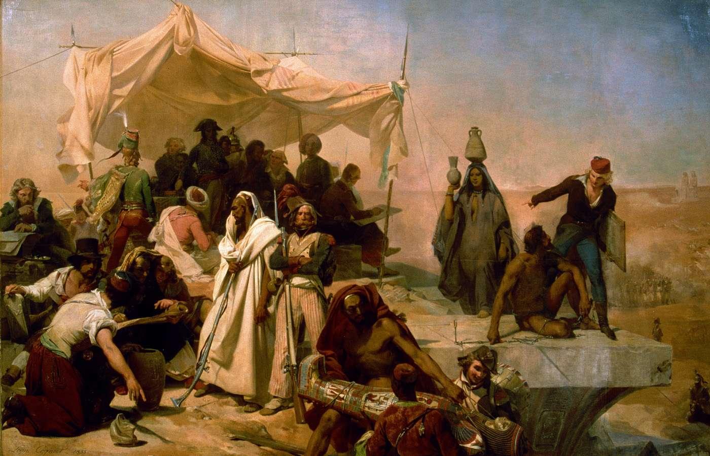 Leon_Cogniet_-_L_Expedition_D_Egypte_Sous_Les_Ordres_De_Bonaparte