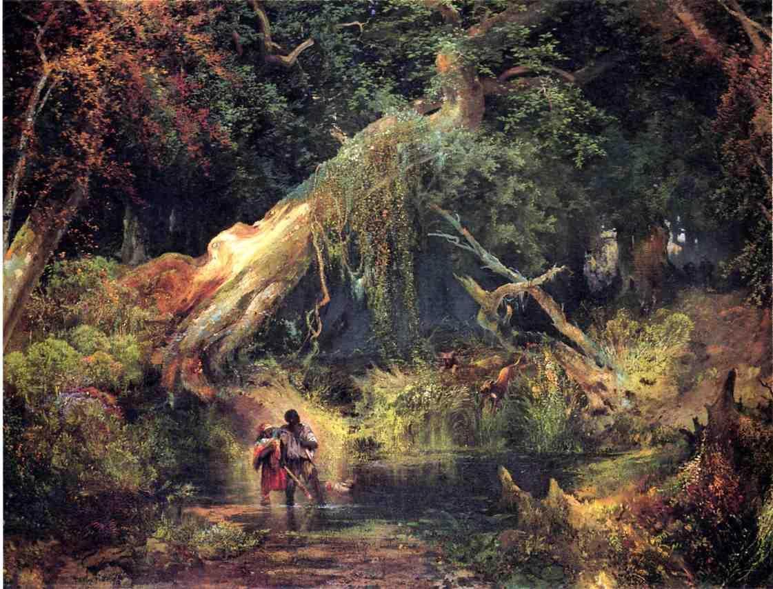 Slave Hunt_ Dismal Swamp_ Virginia_Moran