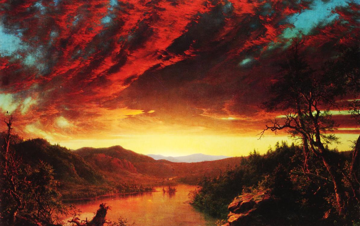 Twilight in the Wilderness,Church