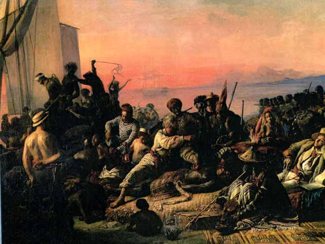 biard-slave trade