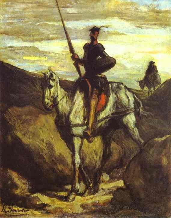 honore-daumier-don-quixote-and-sancho-pansa-1