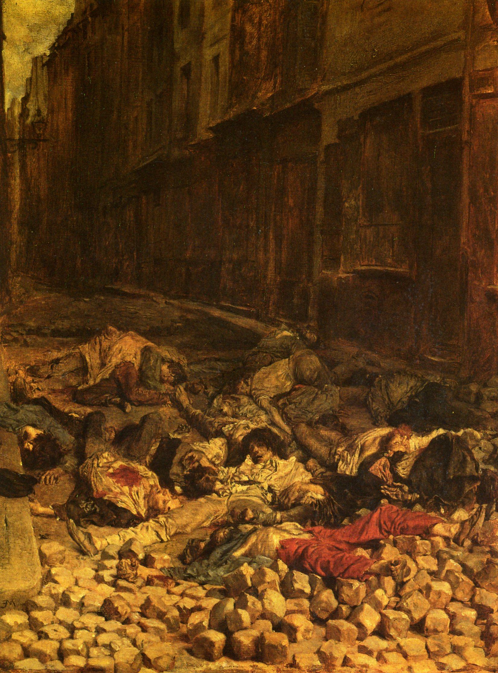 1871 meissonier ernest la barricade