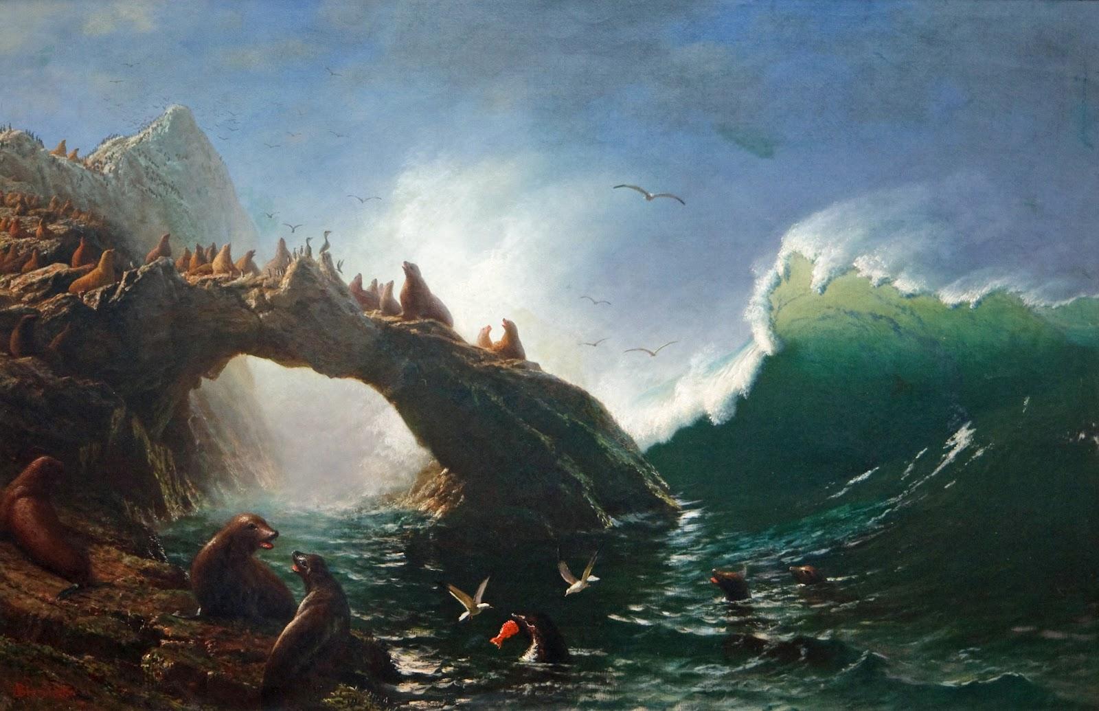 Albert Bierstadt - Farallon Islands