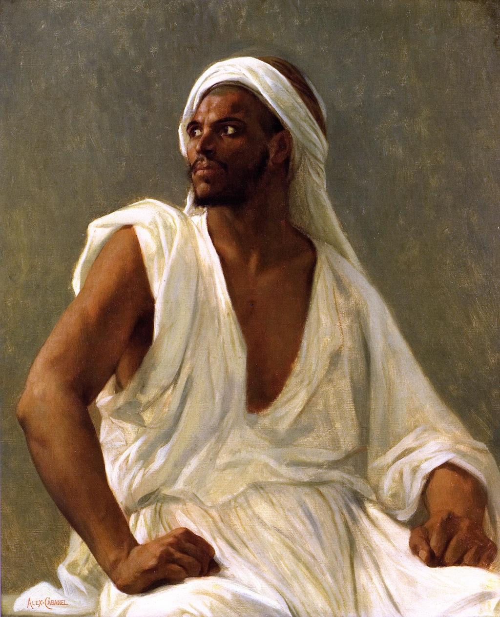 Alexandre-Cabanel-xx-Portrait-of-an-Arab-