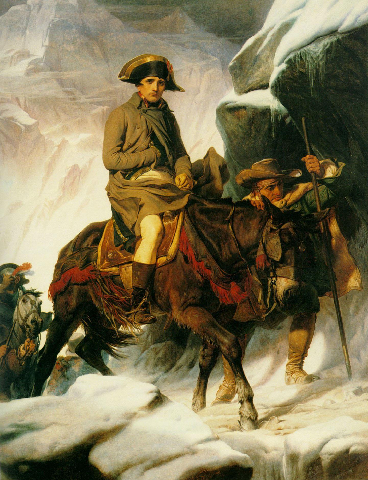 Delaroche_-_Bonaparte_franchissant_les_Alpes
