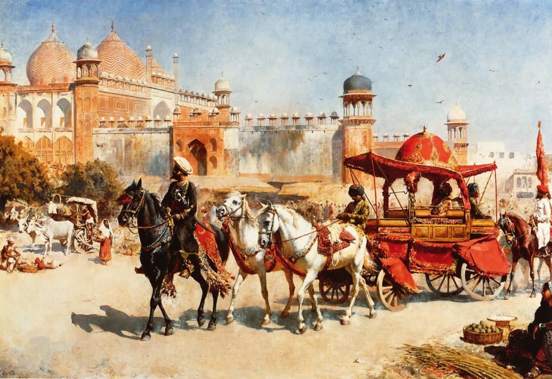 Edwin Lord Weeks - Royal Procession Before the Jumna Masjid