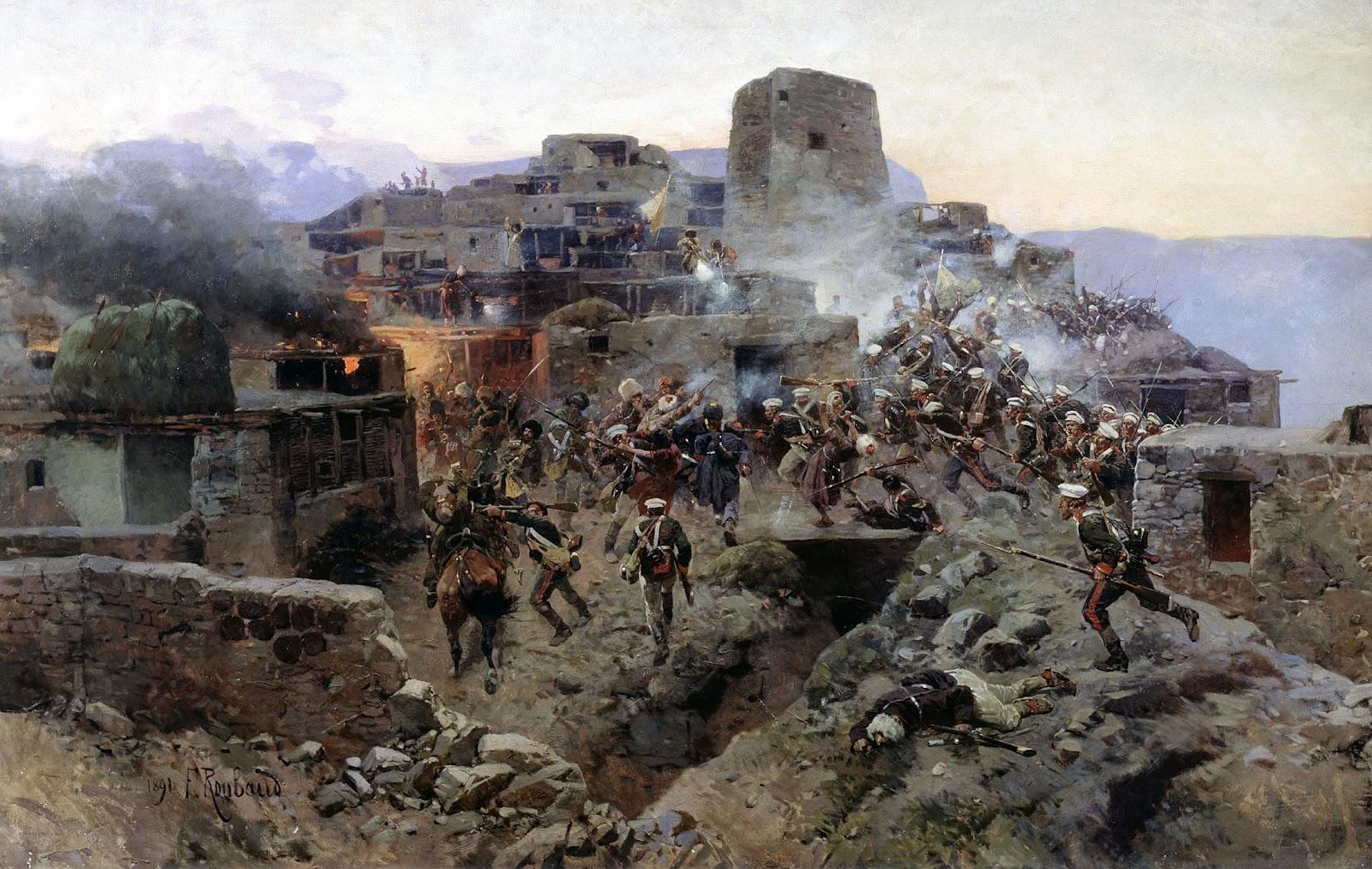 Franz Roubaud - Assault on Gimry