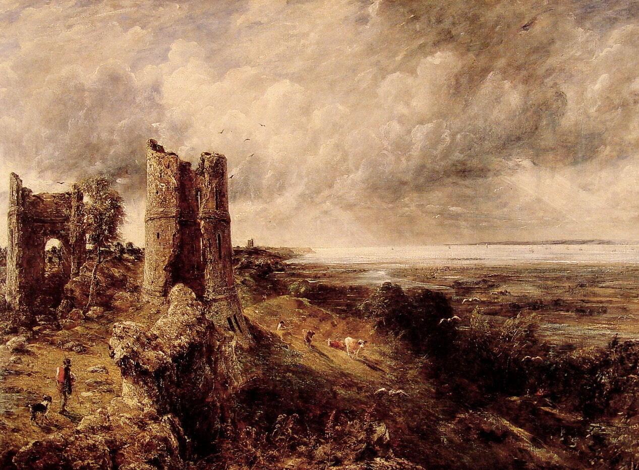 Hadleigh Castle_Constable