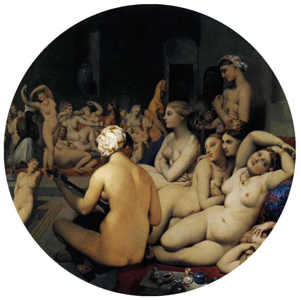 Jean-Auguste-Dominique-Ingres-TheTurkish-Bath
