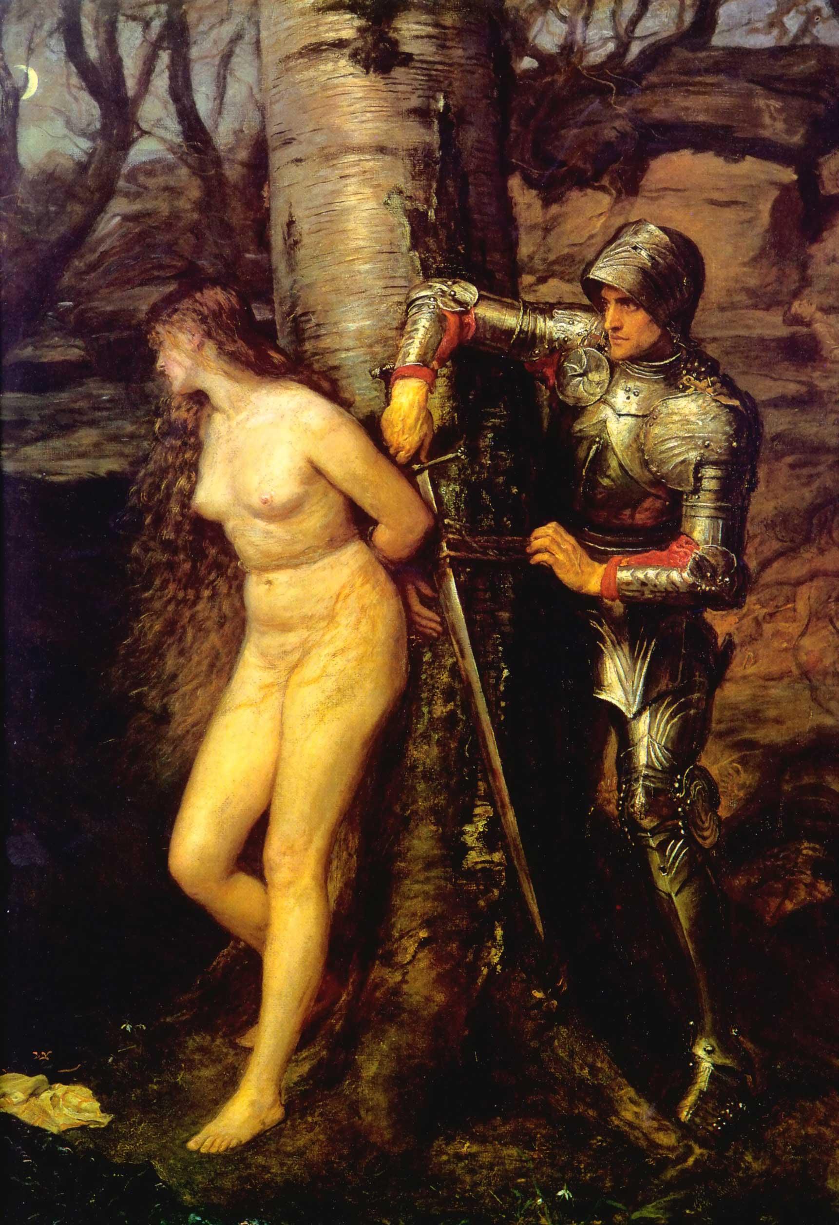 John-Everett-Millais-The-Knight-Errant-1870