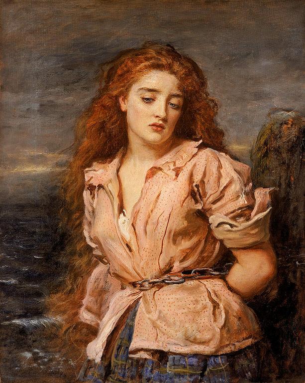 John-Everett-Millais-The-Martyr-of-the-Solway-c.-1871