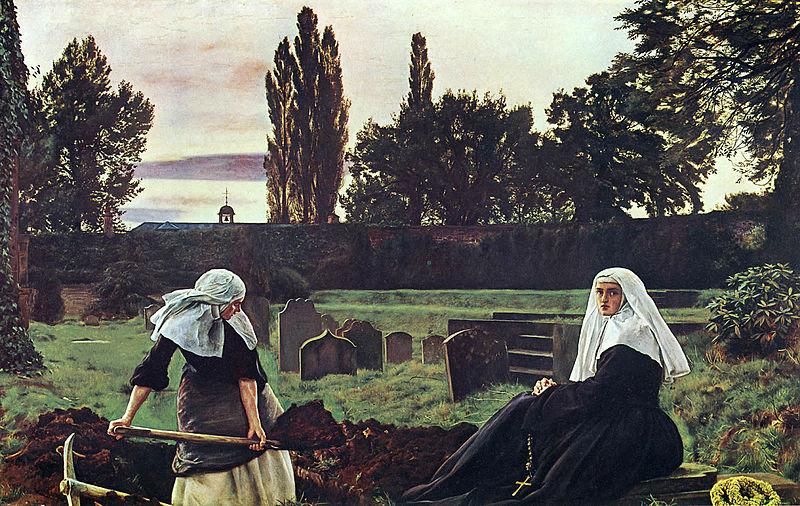 John-Everett-Millais-The-Vale-of-Rest-1858-Tate-Britain-London
