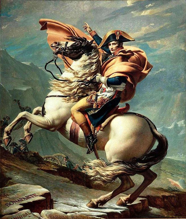 Napoleon_crossing_the_alps_Malmaison_version_David
